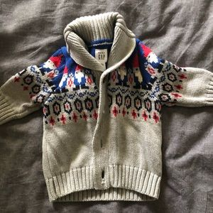 Baby Gap Gnome sweater 3-6 months